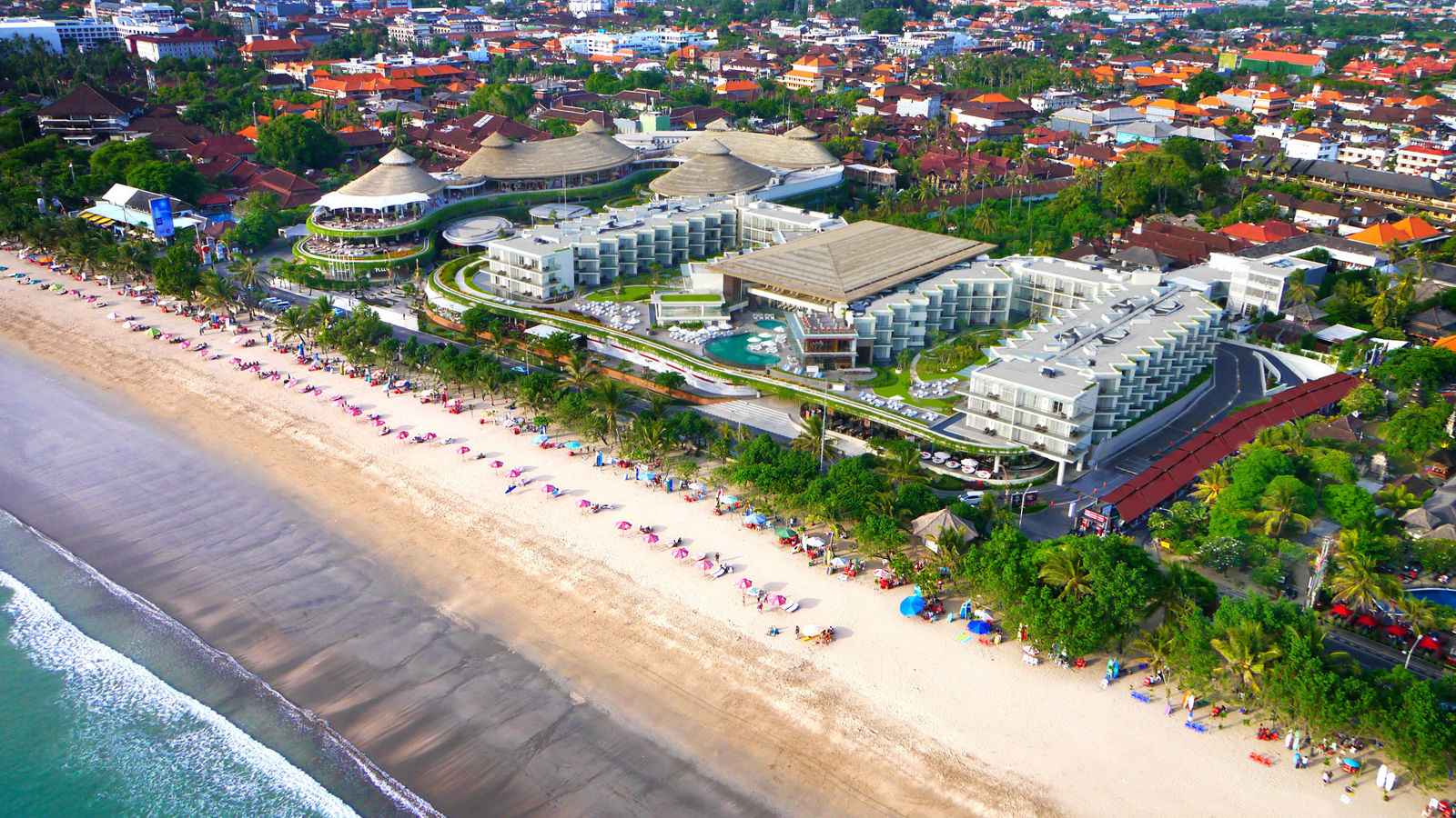 Aerial View at Sheraton Kuta Bali