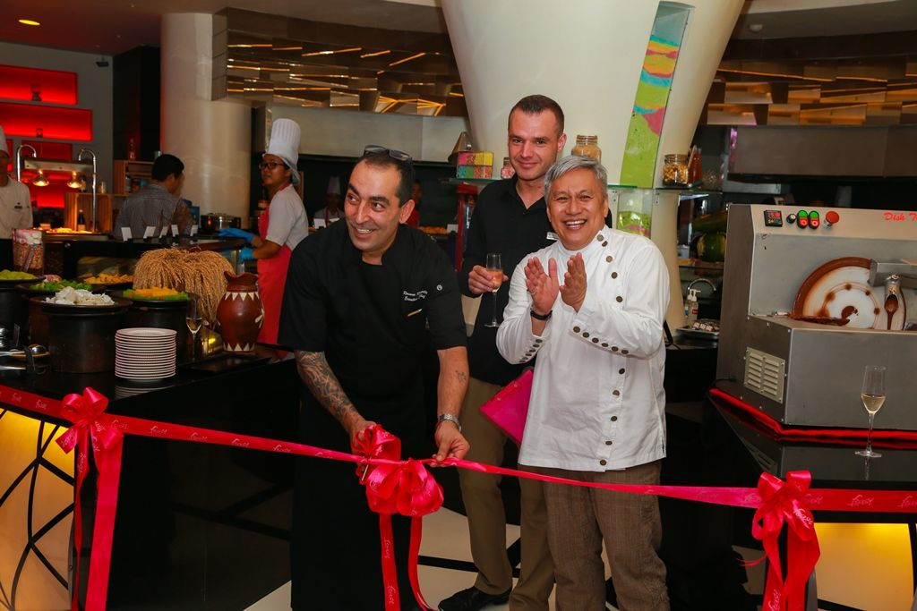 Ribbon Cutting to commemorate the event - Sheraton Bali Kuta Resort