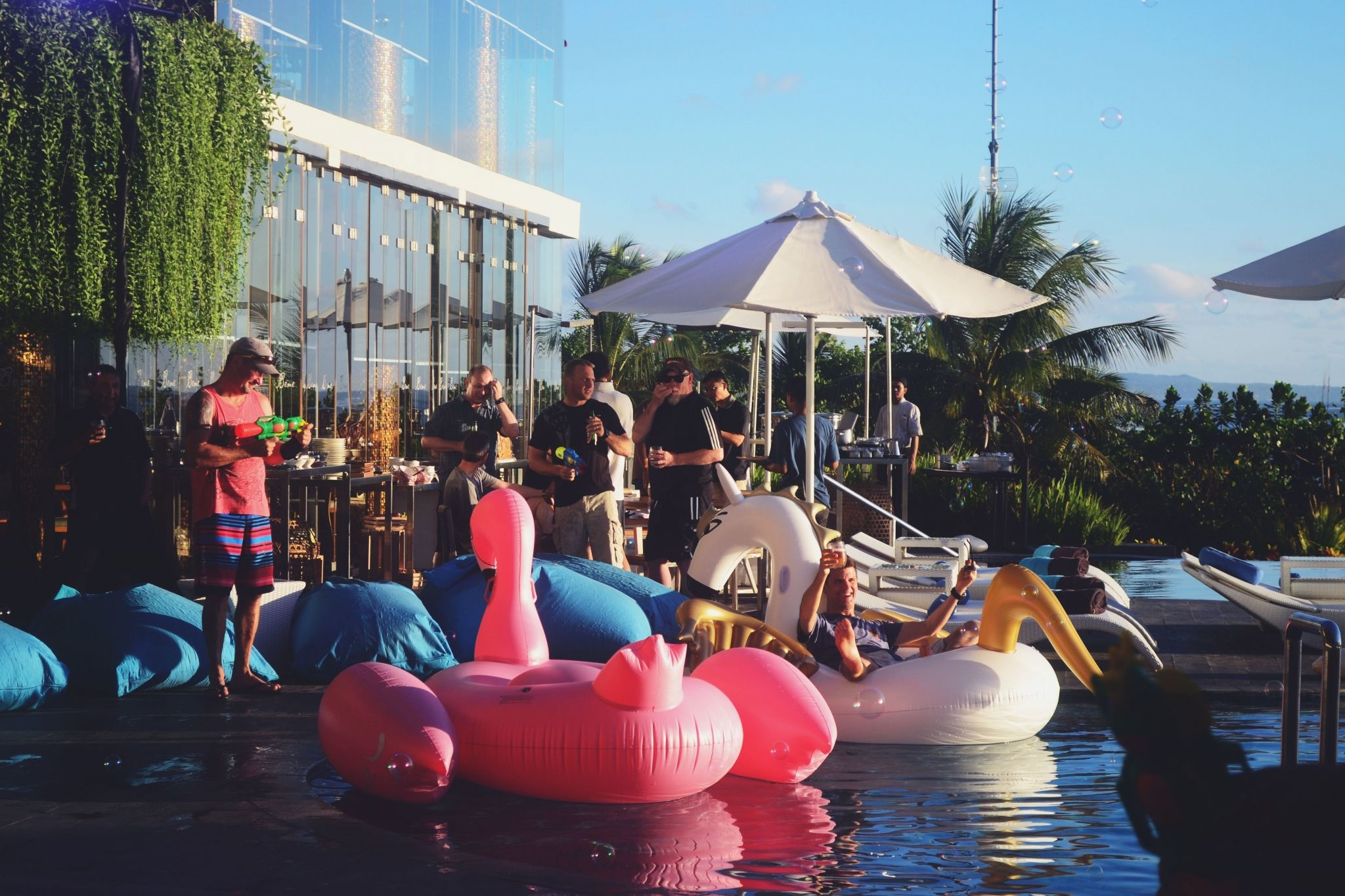 Bubble Sparkling Party Hotel Kuta