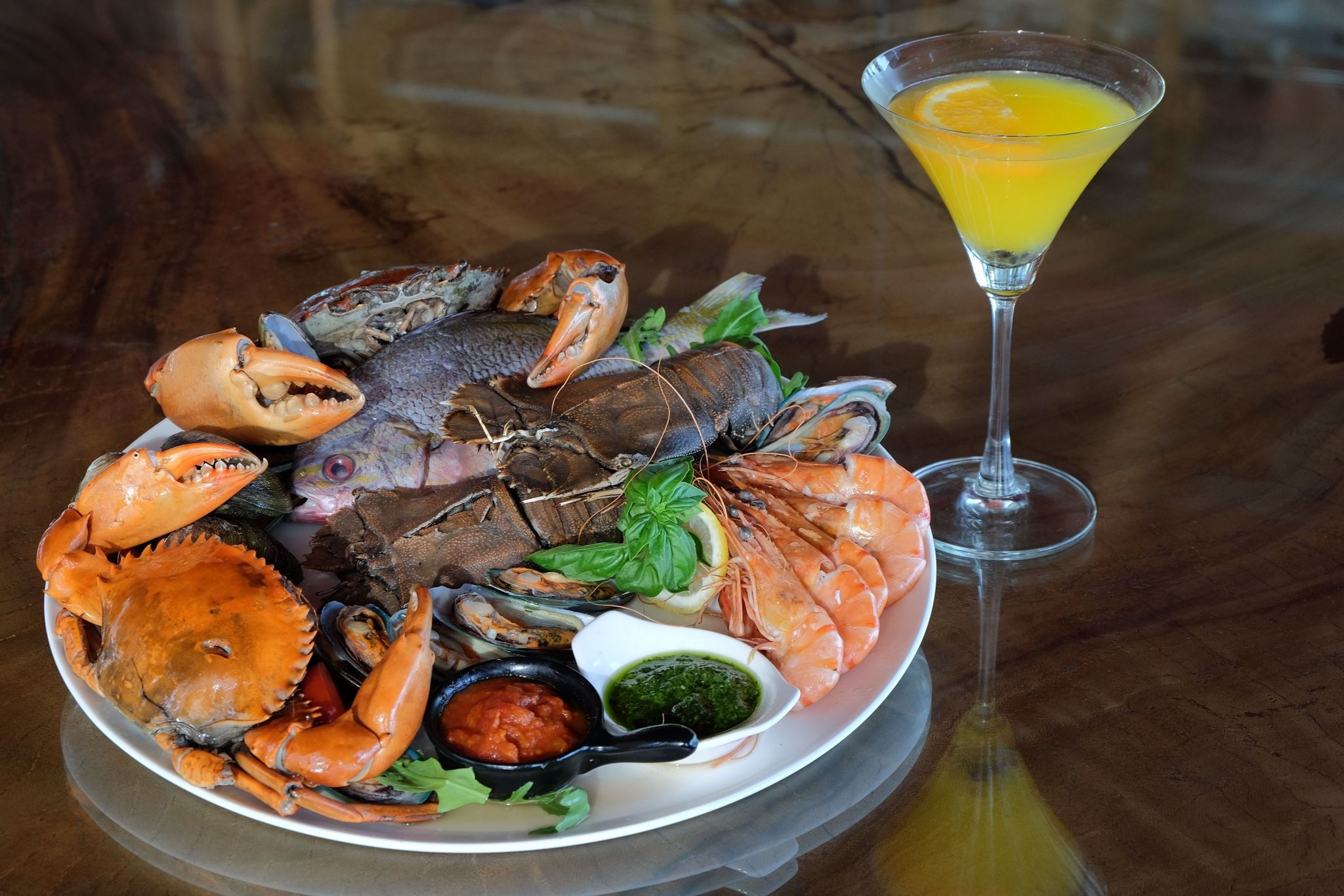 Seafood Martini Friday - Sheraton Bali Kuta Resort