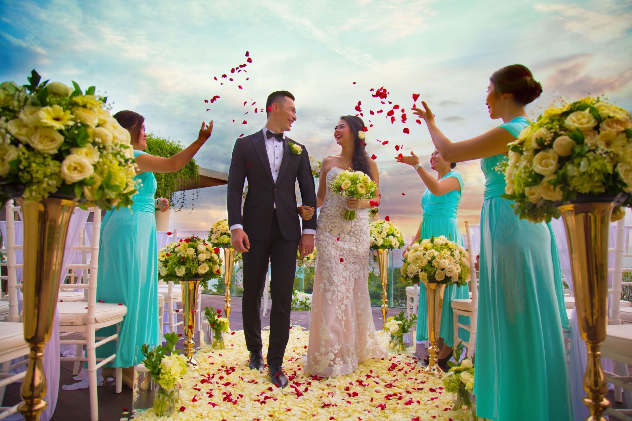 Sunset Intimate Wedding at Presidential Suite | Sheraton Bali Kuta Resort