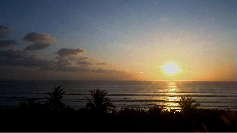 Sunset View from Sheraton Bali Kuta Resort